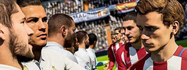 FIFA 18 scende in campo: fischio d'inizio