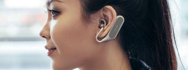 MWC 2018: Sony Xperia Ear Duo, auricolari smart