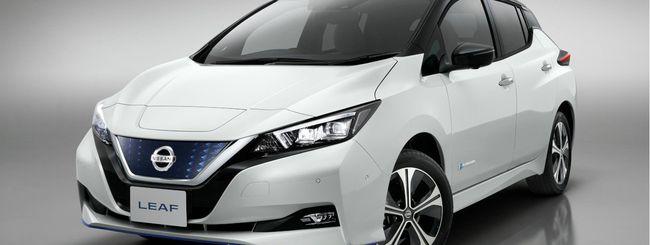 Nissan LEAF e+, 385 Km di autonomia