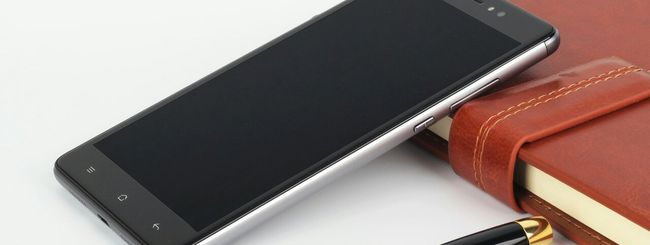 Elephone M1, phablet in alluminio per aziende