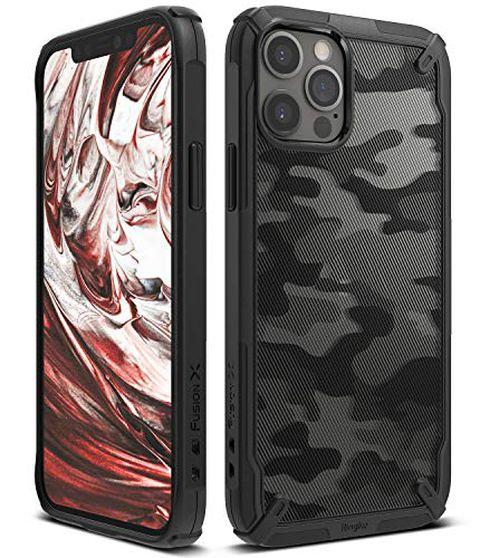 Ringke Cover Fusion-X Compatibile con iPhone 12