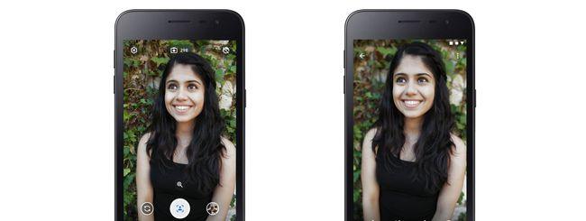 Google lancia Camera Go: app di foto su Android Go