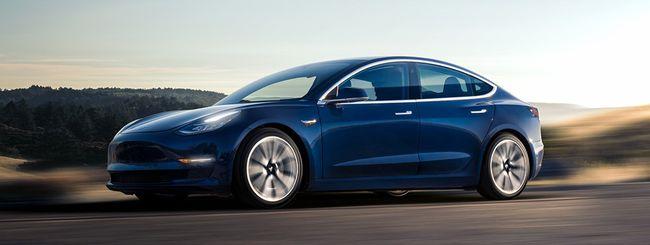 Tesla Model 3 Standard Range Plus in Italia