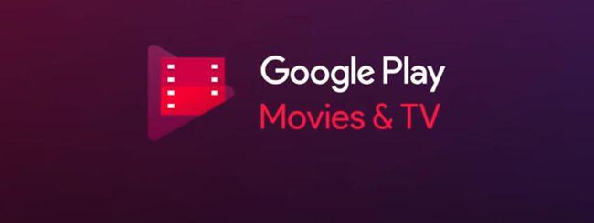 Google Play Film elenca i servizi di streaming
