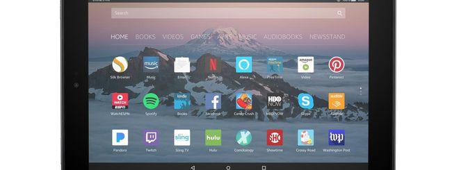 Amazon aggiorna il tablet Fire HD 10