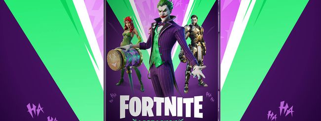 "Fortnite e DC presentano ""Ride bene chi ride ultimo"""