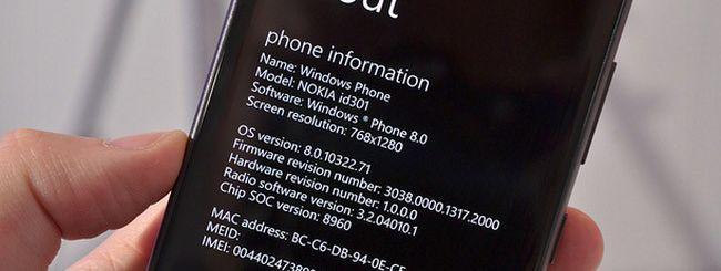 Windows Phone 8, update GDR2 in estate