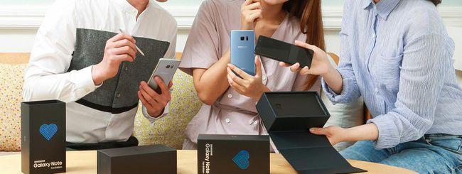 Samsung annuncia il Galaxy Note 7 Fan Edition