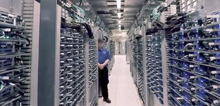 Google, data center