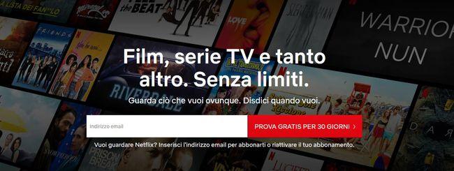 """Netflix """"Soddisfatti o rimborsati"""": la nuova promozione"""