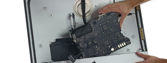 Nuovo iMac Retina 5K smontato pezzo per pezzo