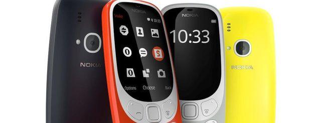 Nokia 3310, il nuovo modello arriva in Italia