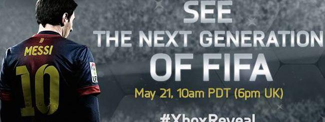 FIFA 14 alla presentazione di Xbox 720