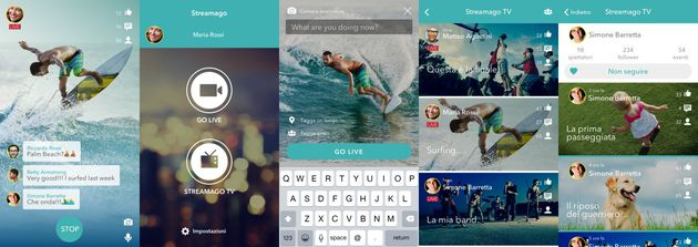 Streamago Social 2.0 per iOS