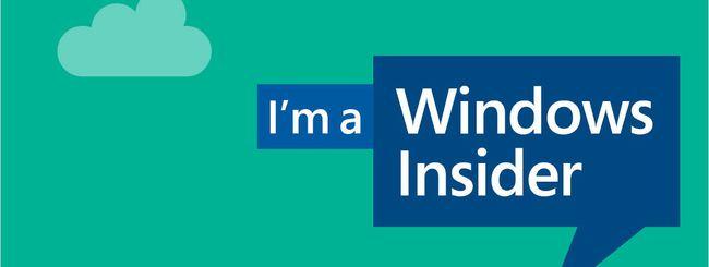 Windows 10, build 14251 agli Insider