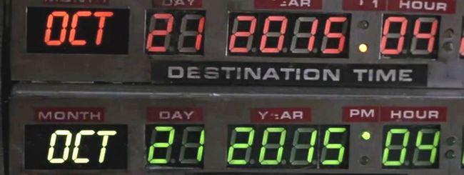 21 ottobre 2015: il futuro inizia oggi