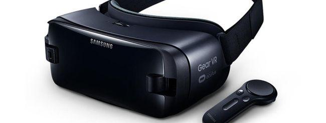 Samsung Gear VR, nuovo modello per Galaxy Note 8