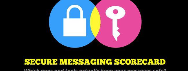 EFF presenta il Secure Messaging Scorecard