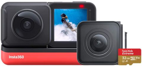 Insta360 ONE R Action Camera (con scheda di memoria da 32GB)