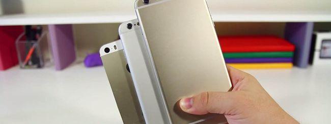 Un iPhone 6 più grande del Samsung Galaxy Note 3