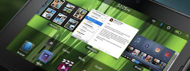 RIM, PlayBook OS 2.0 in arrivo a febbraio 2012
