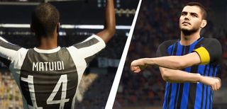 FIFA 18 vs. PES 2018