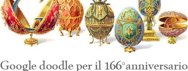 Peter Carl Fabergé celebrato con un Google doodle