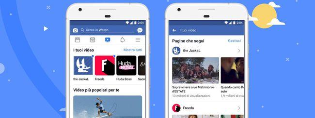 Facebook Watch ora disponibile in tutto il mondo