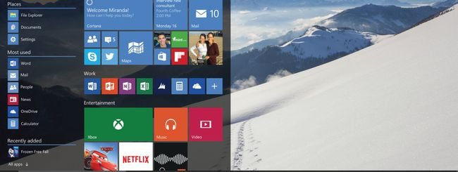 Windows 10, download della January build
