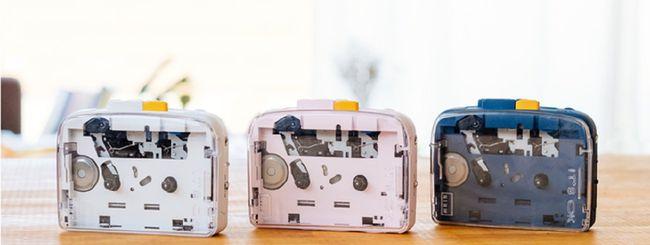 Su Kickstarter il lettore di cassette Bluetooth