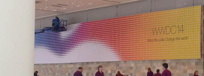 WWDC 2014, streaming e prime foto dal Moscone West