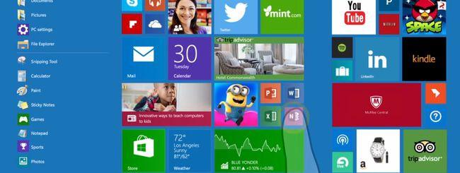 Windows 10 Redstone con un po' di Apple