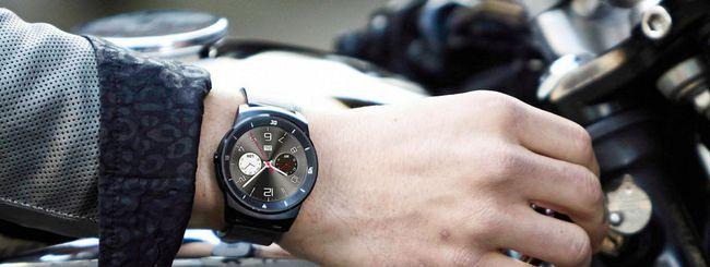 LG G Watch R, ufficiale lo smartwatch rotondo