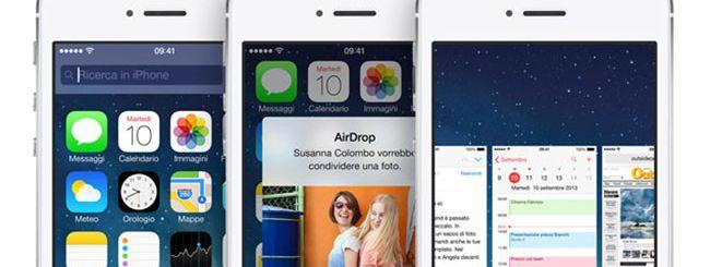 iOS 7: Apple promette di risolvere i crash