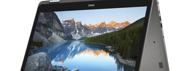 Dell Inspiron e XPS 13 con CPU Kaby Lake Refresh