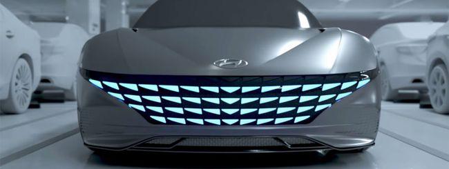 Auto elettriche con ricarica automatica da Hyundai