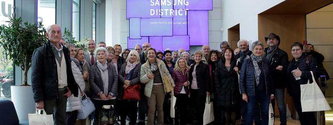 Samsung a Milano insegna la tecnologia ai senior