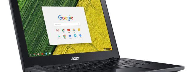 Acer Chromebook 11 C771, veloce e indistruttibile