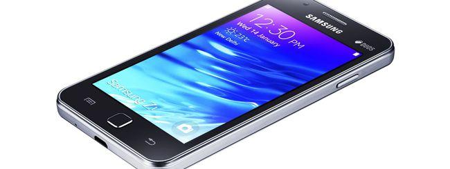 Samsung Z3, primo smartphone Tizen con display HD