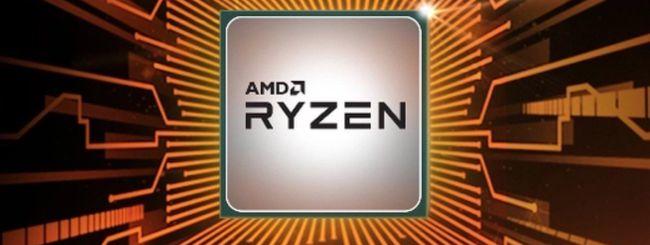 AMD presenta le CPU Ryzen 3, Ryzen 5 e Ryzen 7