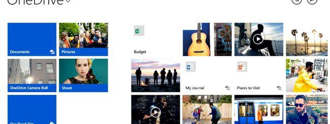 Microsoft OneDrive disponibile per tutti
