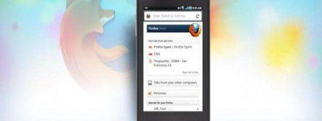 Firefox 8 su Android, tante le novità