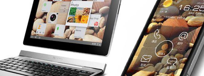 CES 2012: Lenovo IdeaTab S2 e LePhone S2