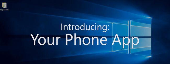 Windows 10, Your Phone risponde alle notifiche