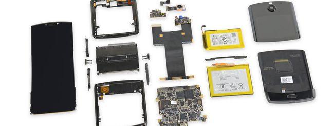 Motorola Razr impossibile da riparare