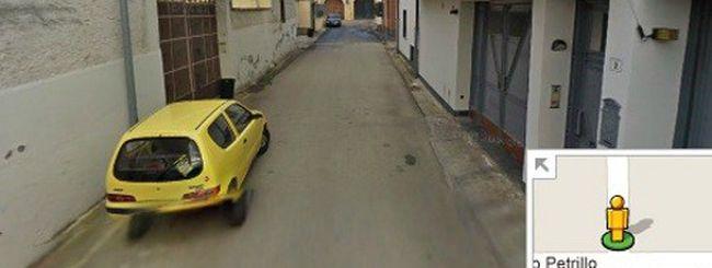 Michele Zagaria, il covo del boss su Street View
