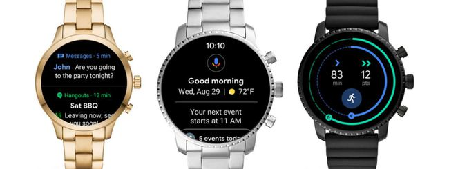 Google modifica l'interfaccia di Wear OS