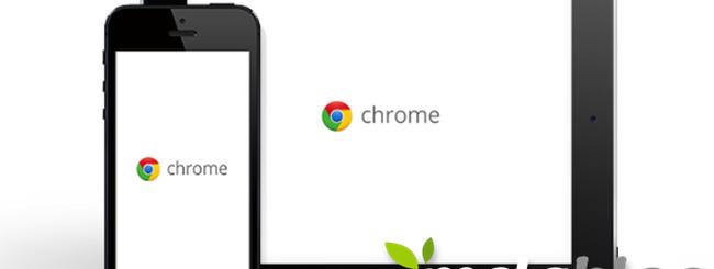 Chrome per iOS, migliore interoperabilità e supporto full screen