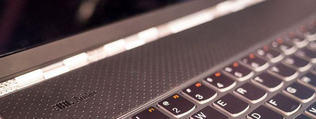 Nuova gamma Lenovo Tablet Yoga provata con mano