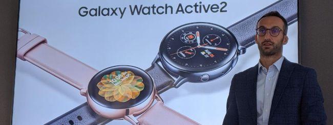Samsung Galaxy Watch Active 2: primo contatto
